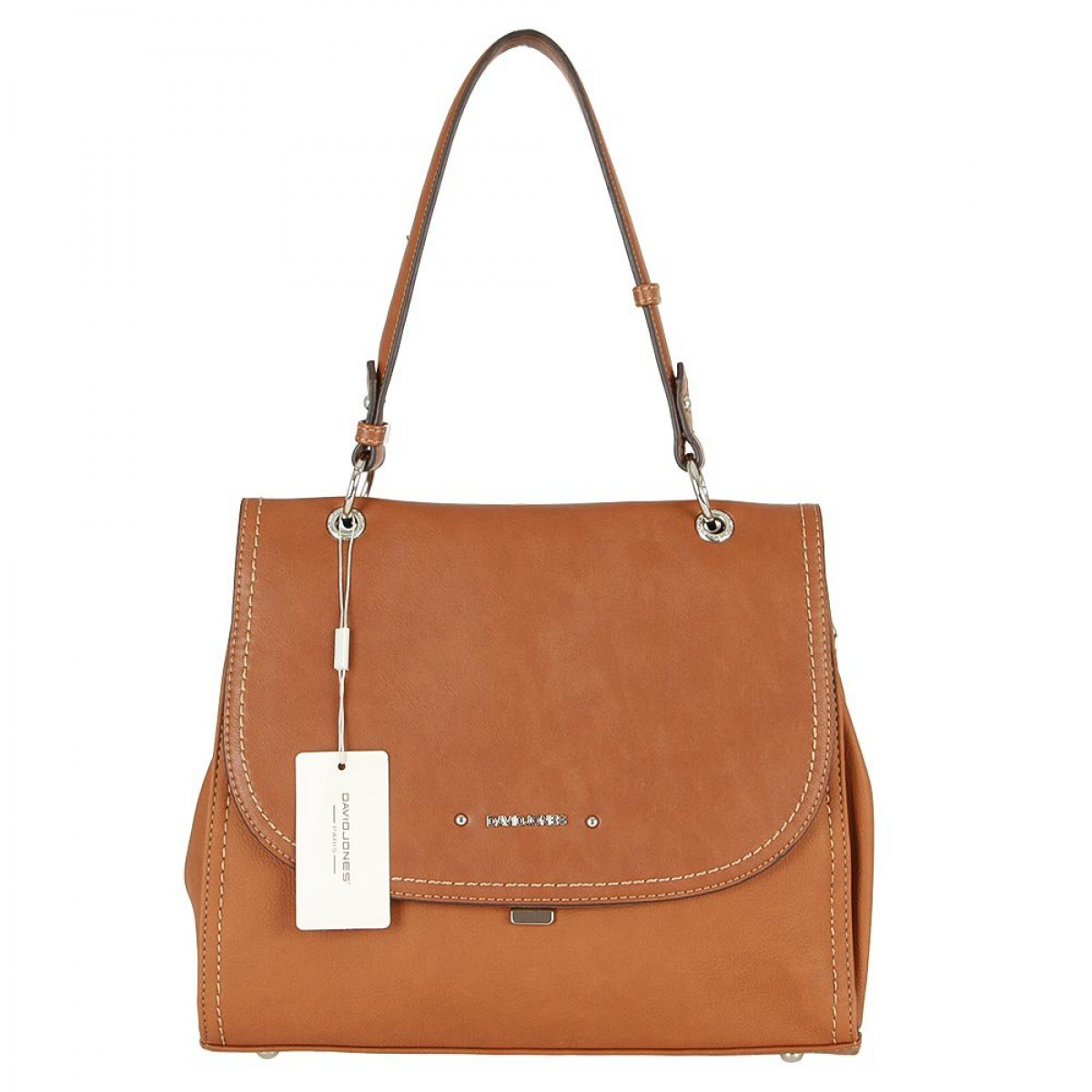 Жіноча сумка David Jones CM5464A COGNAC