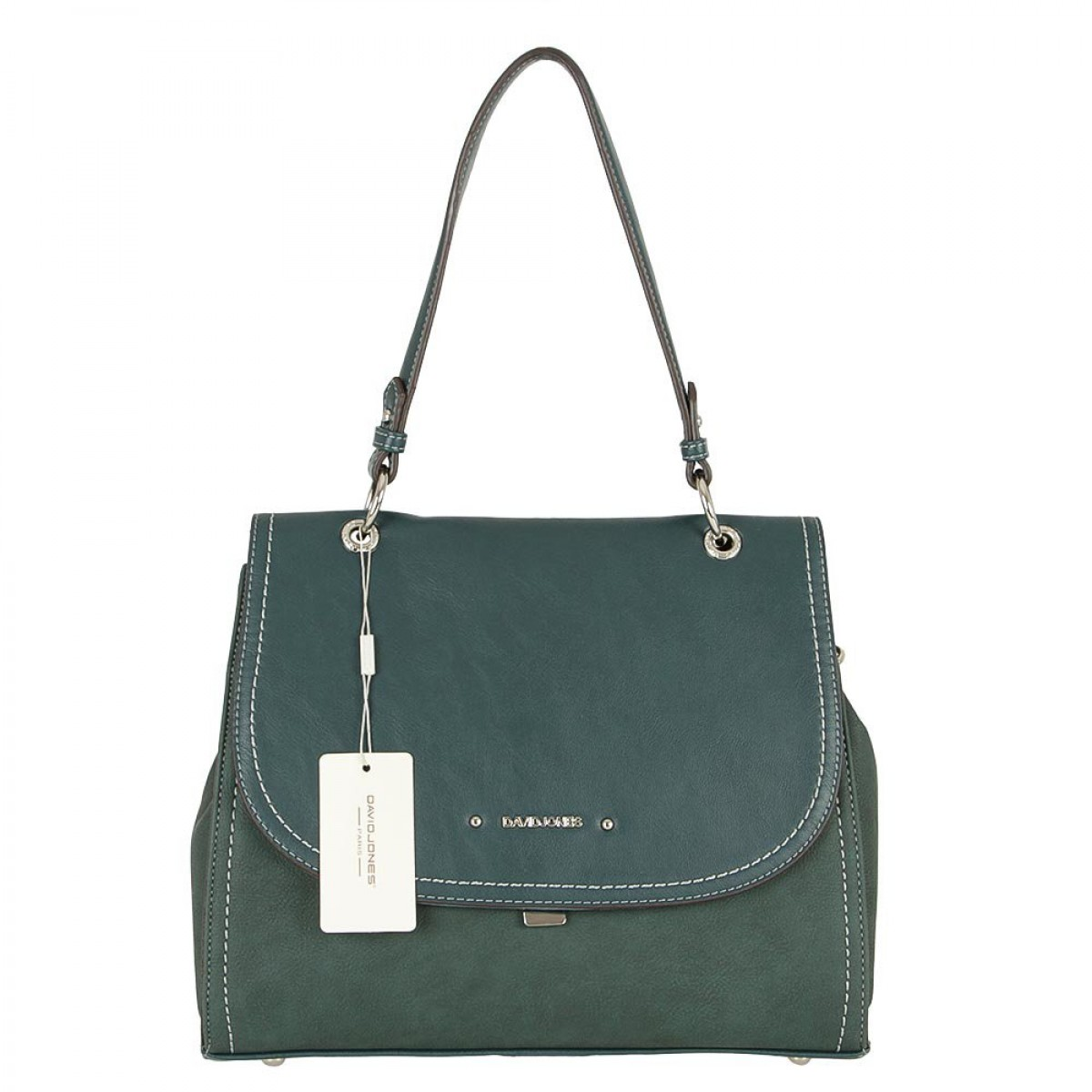 Жіноча сумка David Jones CM5464A D.GREEN