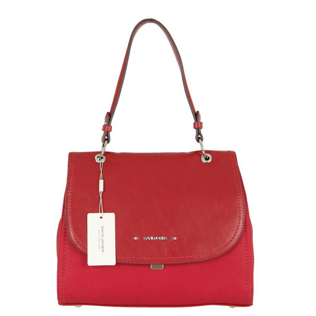 Жіноча сумка David Jones CM5464A DARK RED