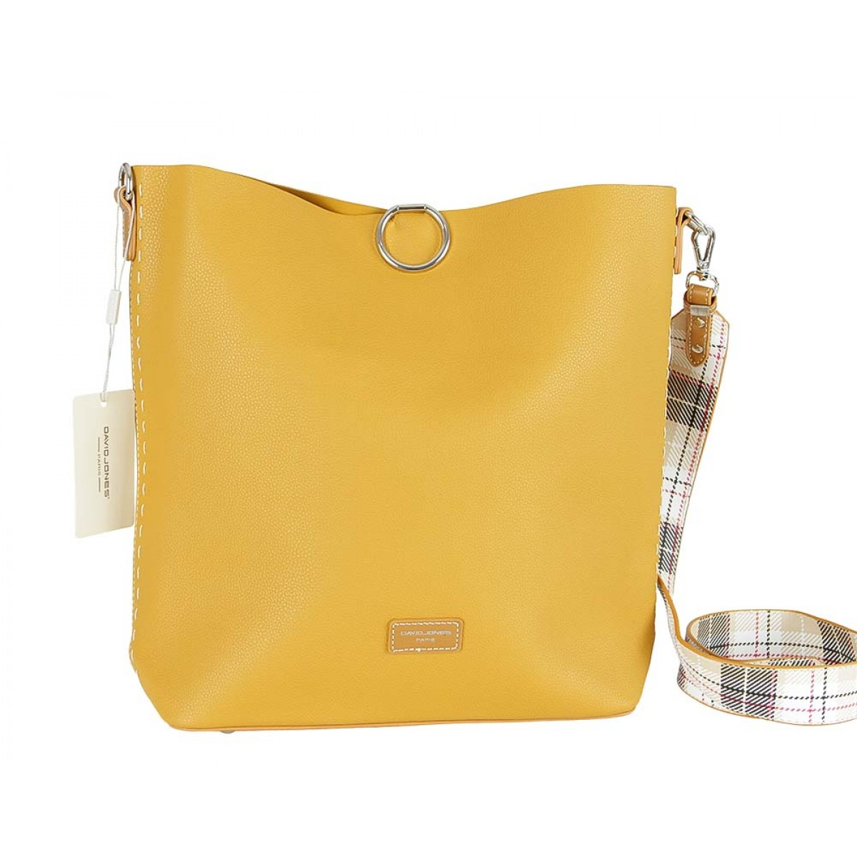 Жіноча сумка David Jones CM5468 MUSTARD