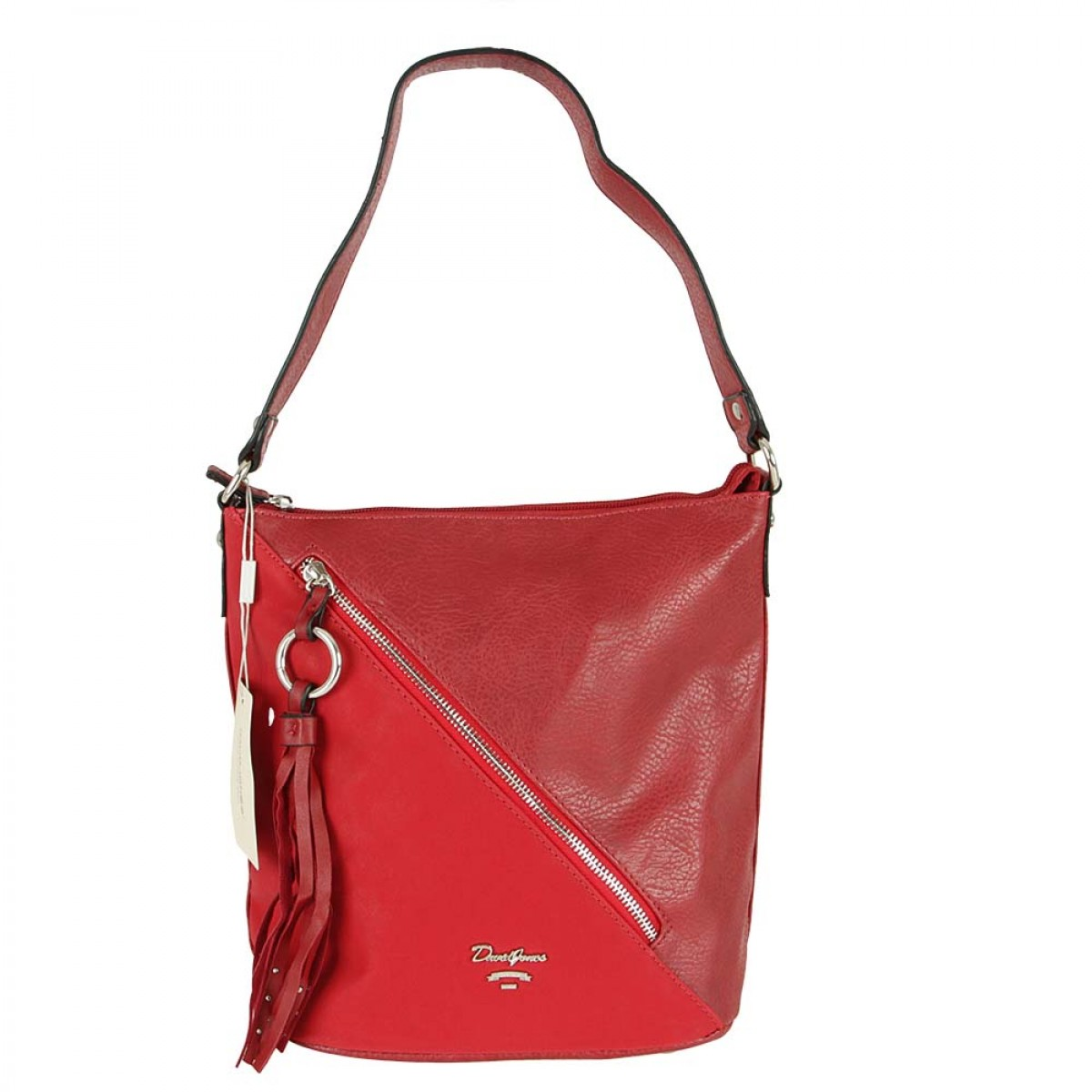 Жіноча сумка David Jones CM5474 DARK RED