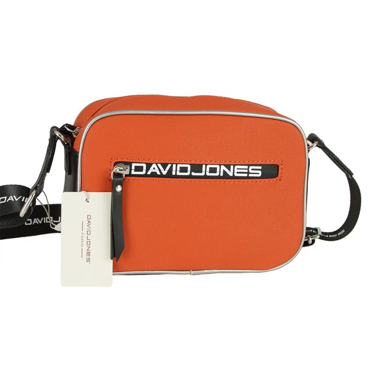 Жіноча сумка David Jones CM5478 ORANGE