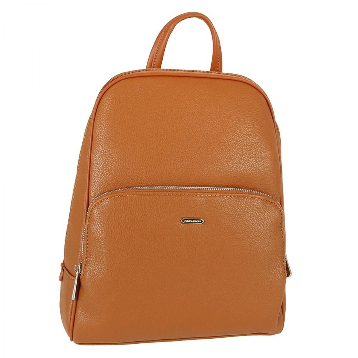 Жіночий рюкзак David Jones CM5485 COGNAC