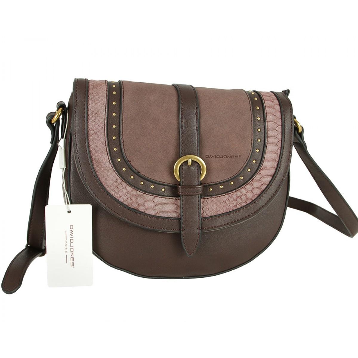 Жіноча сумка David Jones CM5495 D.BROWN