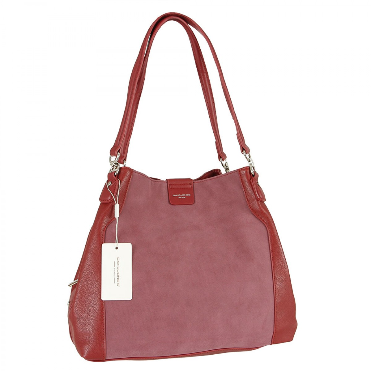 Жіноча сумка David Jones CM5502 DARK RED