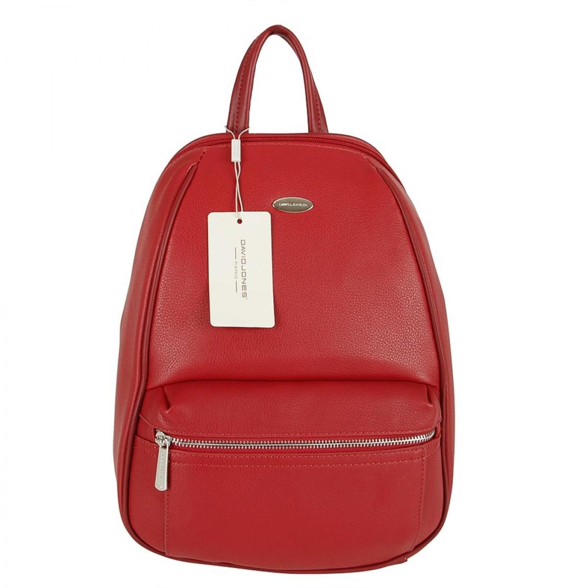 Жіночий рюкзак David Jones CM5504 DARK RED