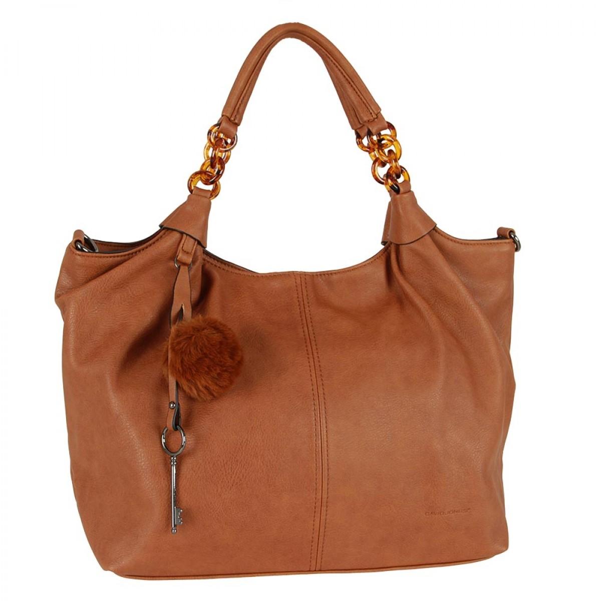 Жіноча сумка David Jones CM5510 COGNAC