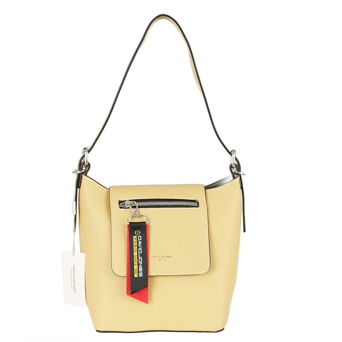 Жіноча сумка David Jones CM5600 YELLOW