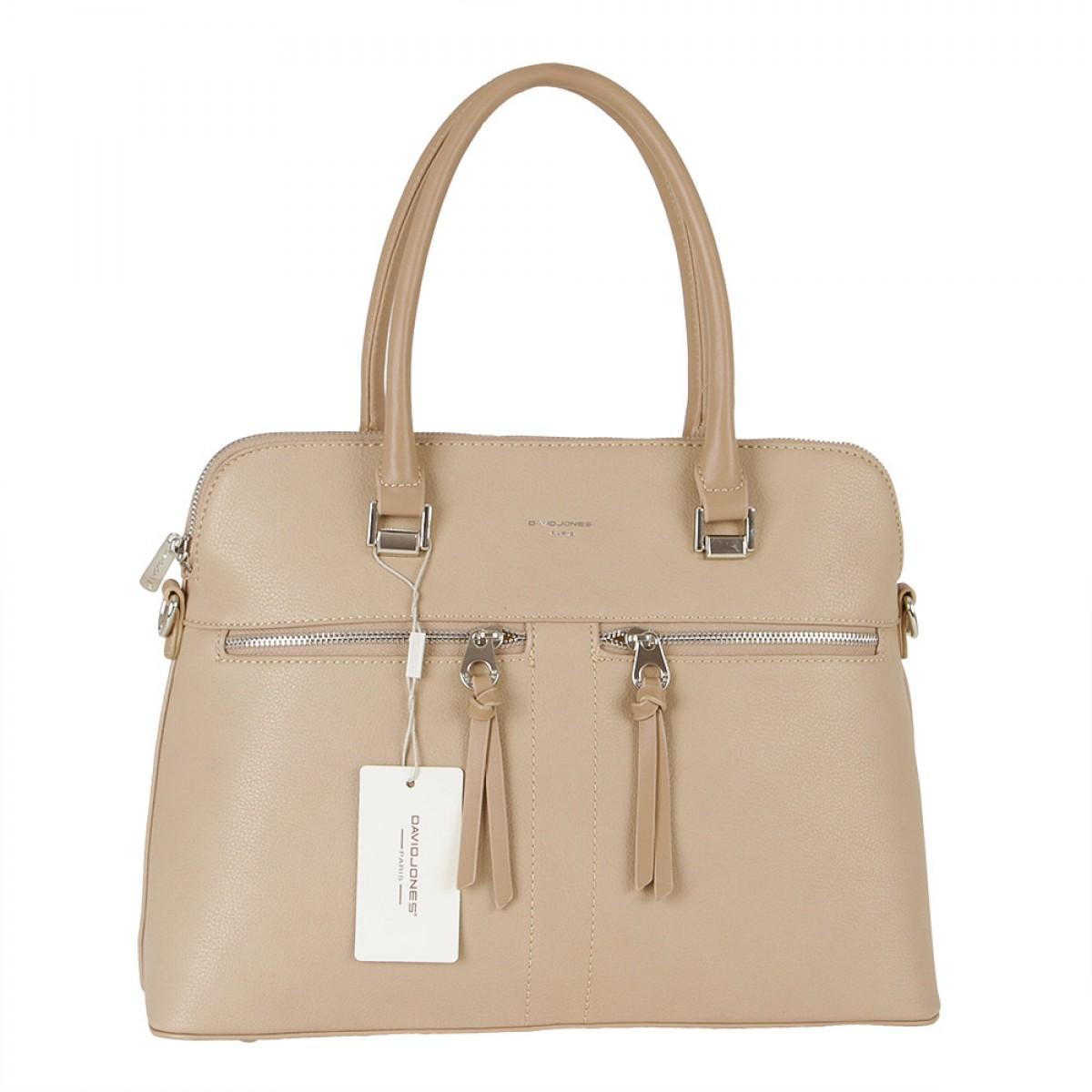 Жіноча сумка David Jones  CM5607A L.CAMEL