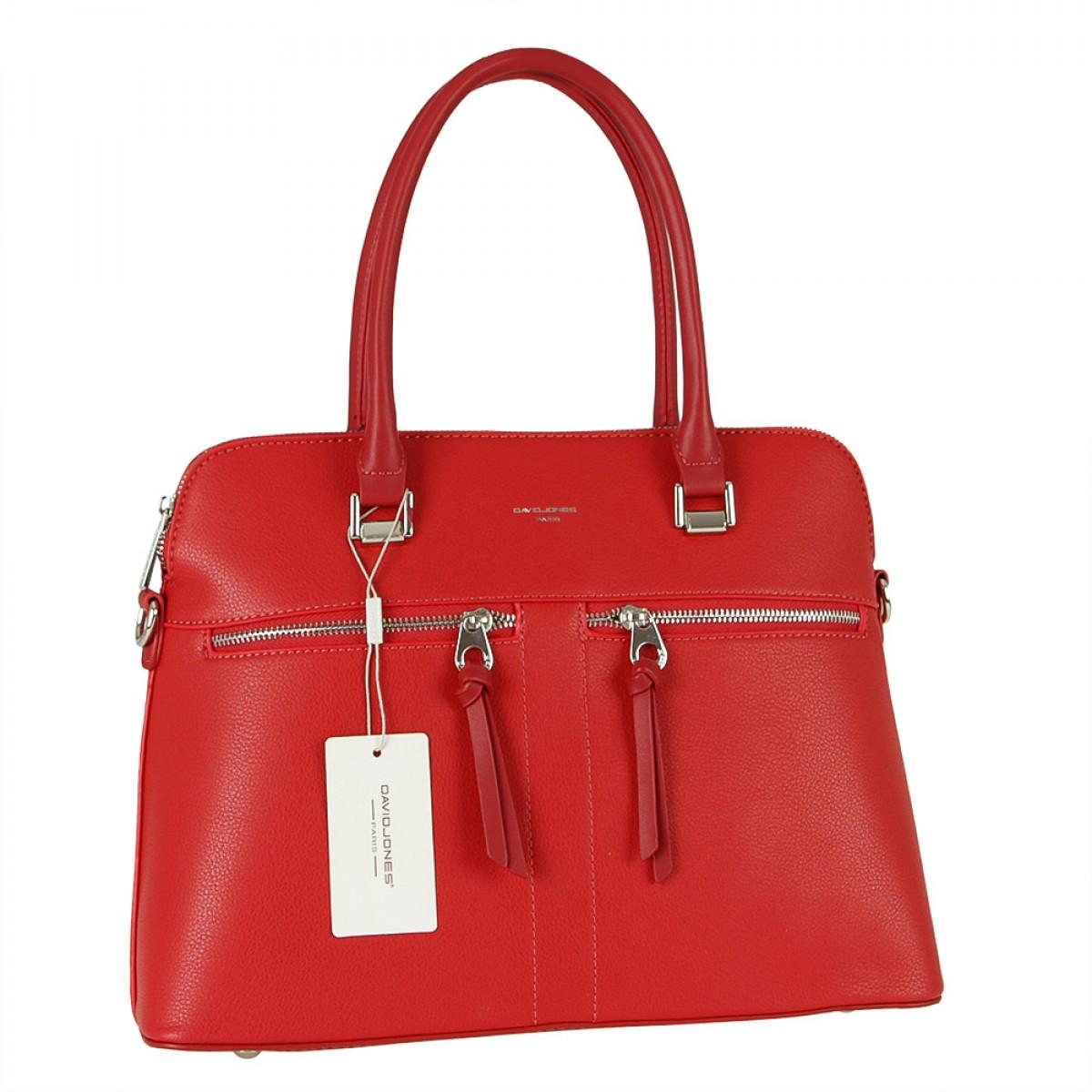 Жіноча сумка David Jones  CM5607A RED