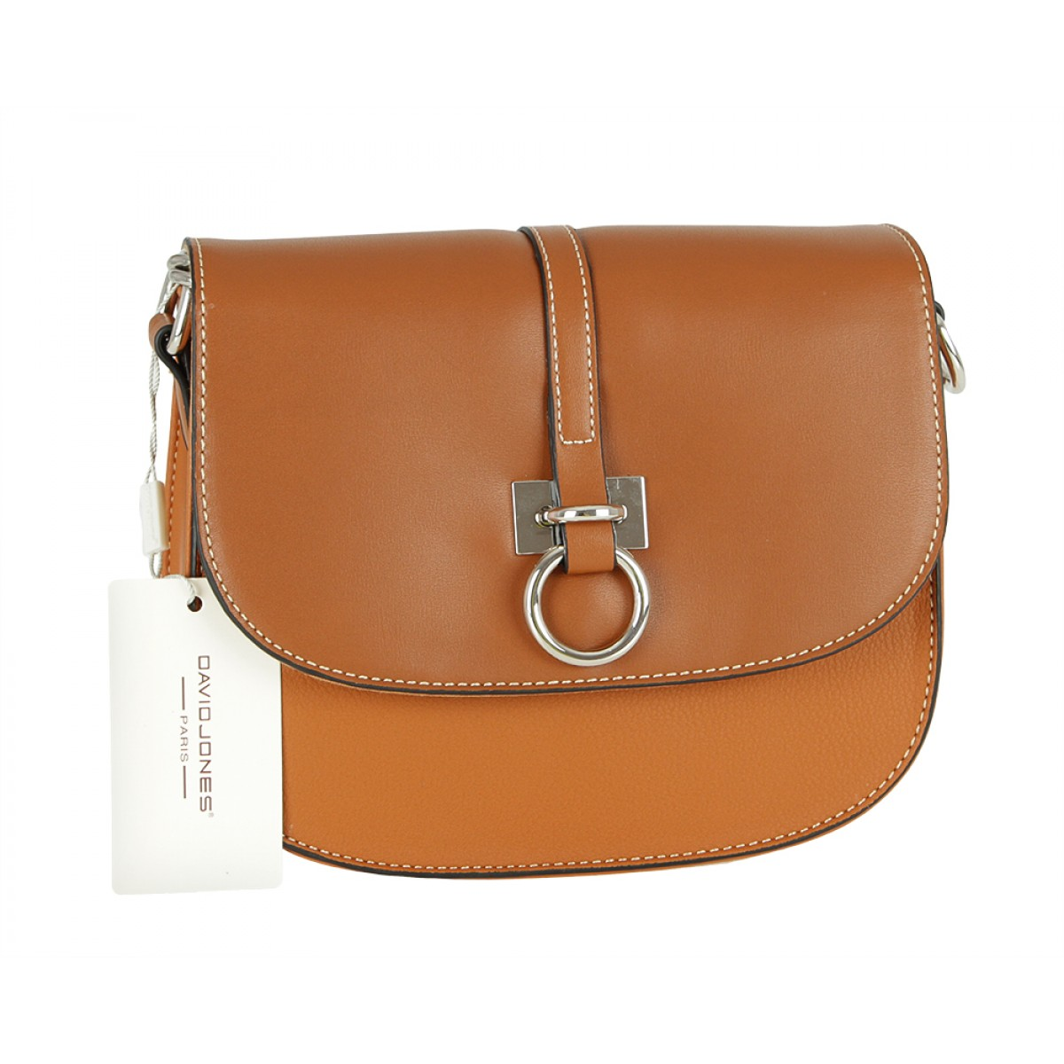 Жіноча сумка David Jones CM5608 COGNAC