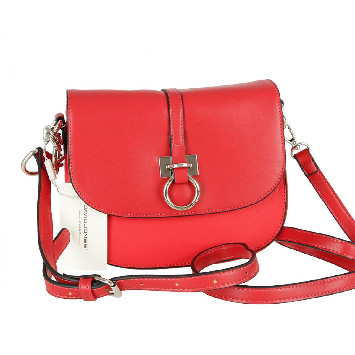 Жіноча сумка David Jones CM5608 RED