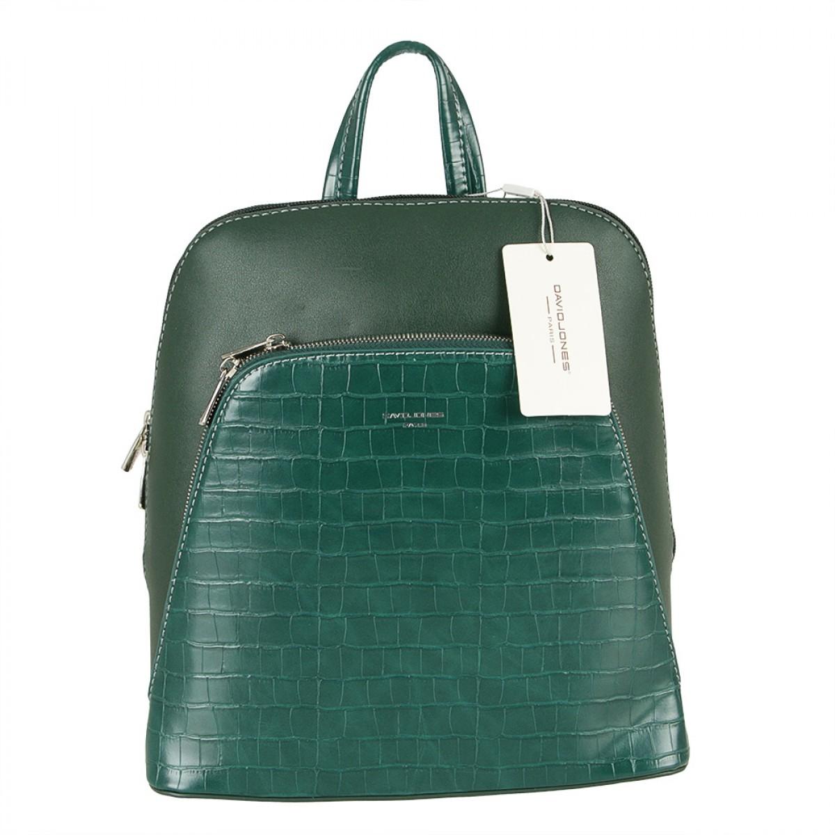 Жіночий рюкзак David Jones CM5615 D.GREEN