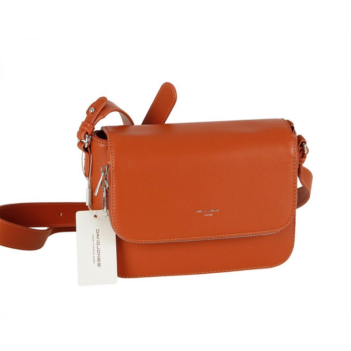 Жіноча сумка David Jones CM5619A COGNAC