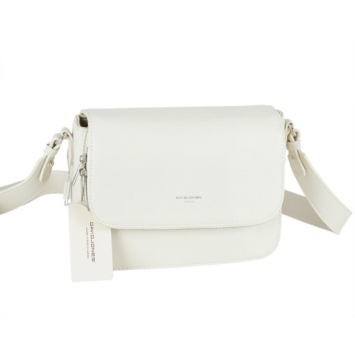 Жіноча сумка David Jones CM5619A CREAMY WHITE
