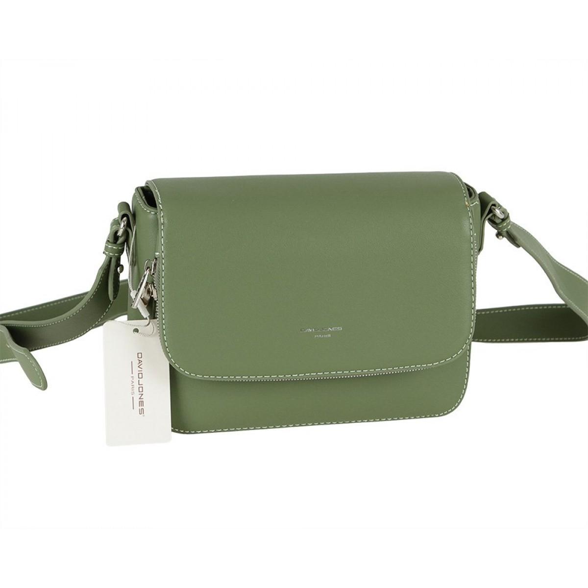 Жіноча сумка David Jones CM5619A GREEN