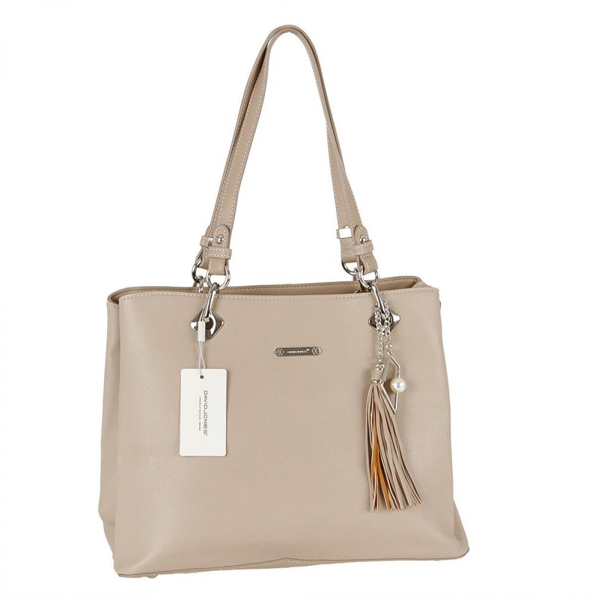 Жіноча сумка David Jones CM5621A L.CAMEL