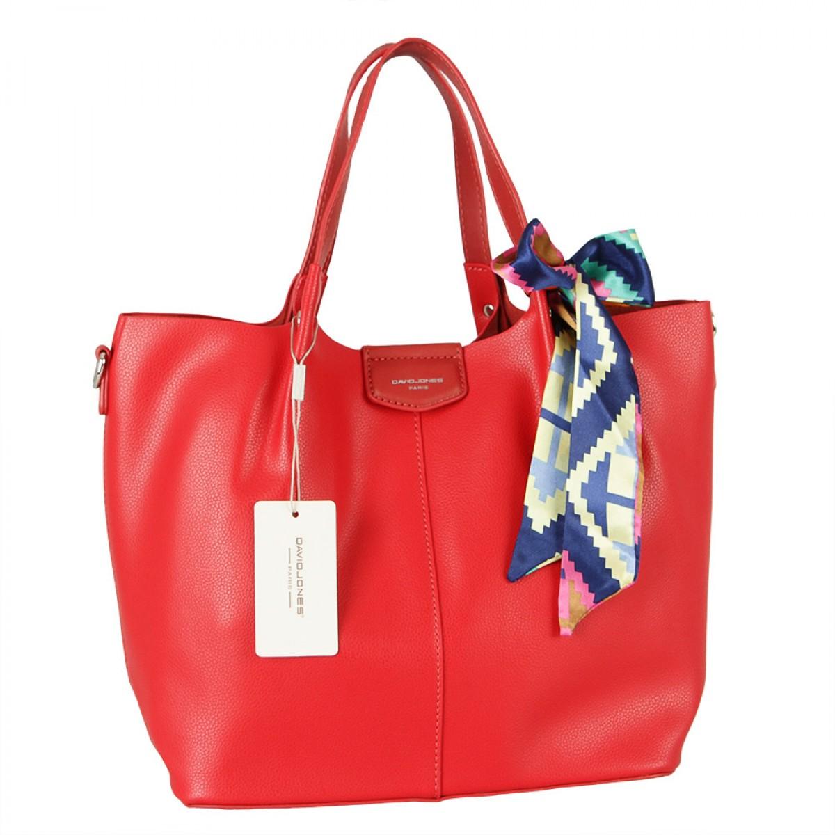 Жіноча сумка David Jones CM5623 RED