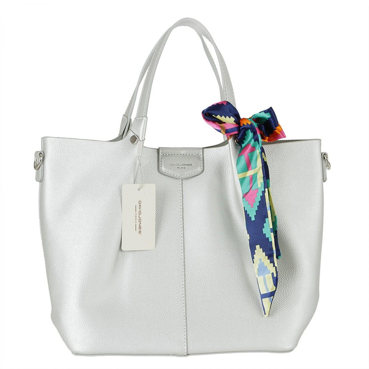 Жіноча сумка David Jones CM5623 SILVER