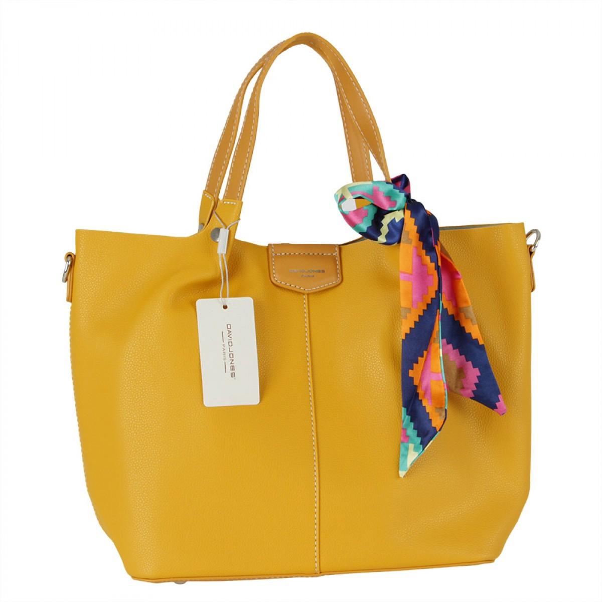 Жіноча сумка David Jones CM5623 YELLOW