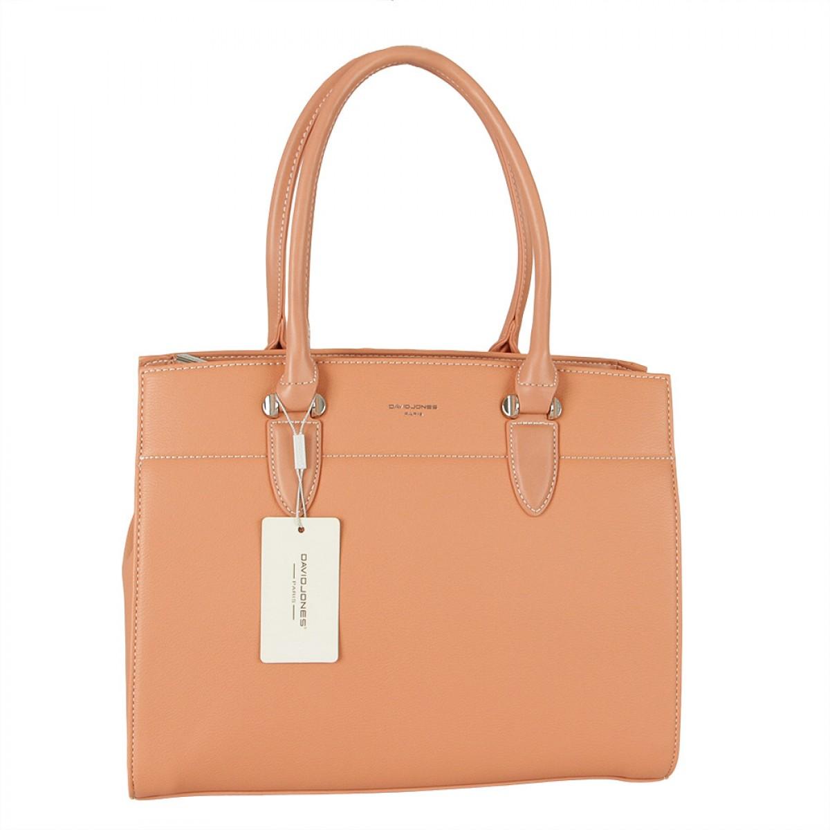 Жіноча сумка David Jones  CM5626 CORAL