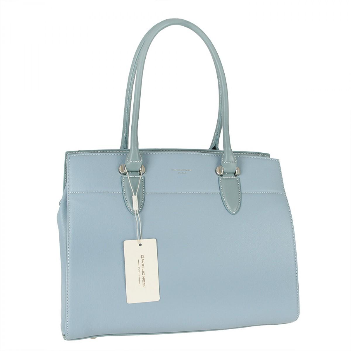 Жіноча сумка David Jones  CM5626 L.BLUE