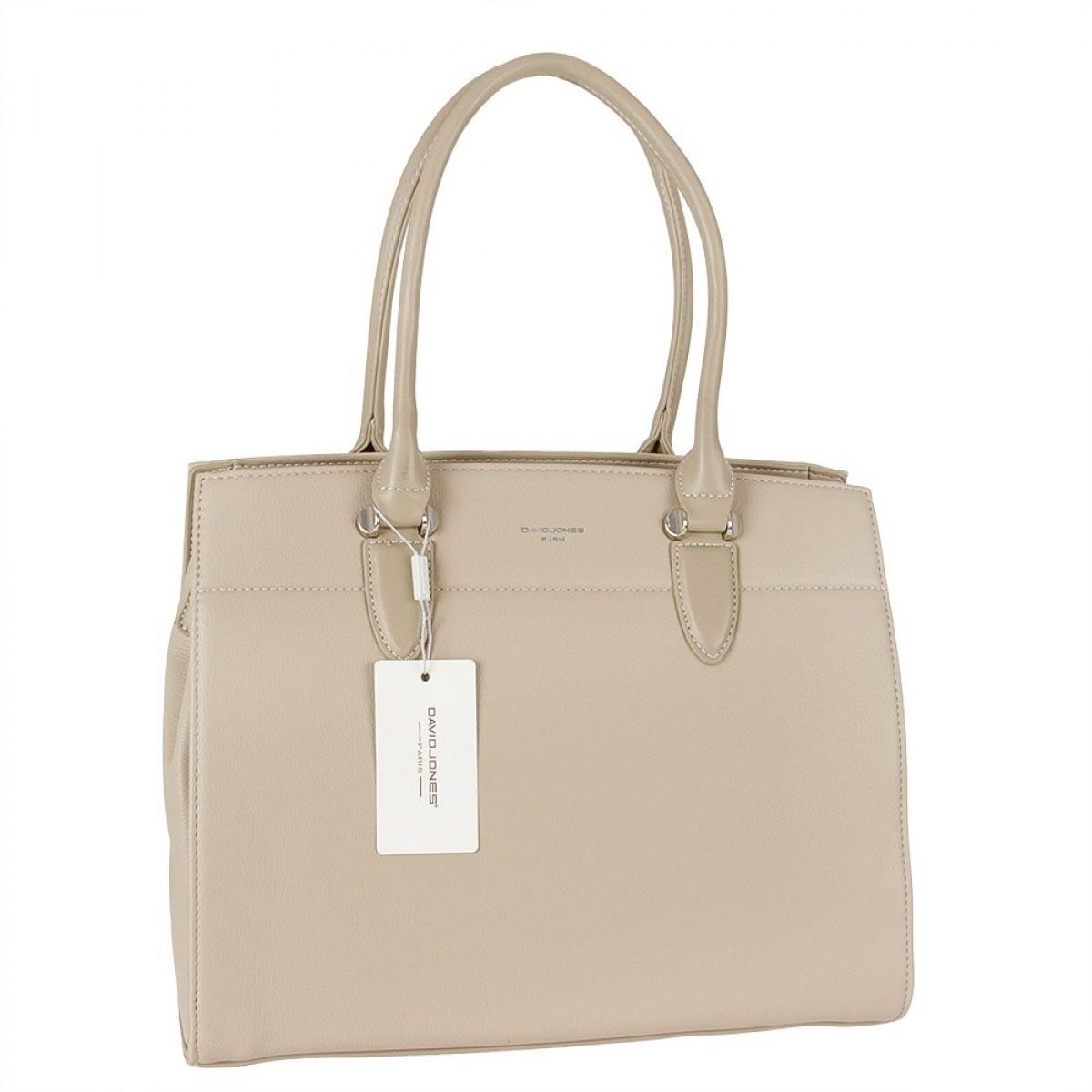 Жіноча сумка David Jones  CM5626 L.CAMEL