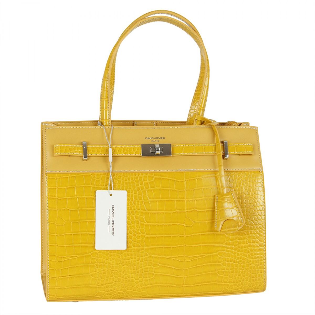 Жіноча сумка David Jones CM5634 YELLOW