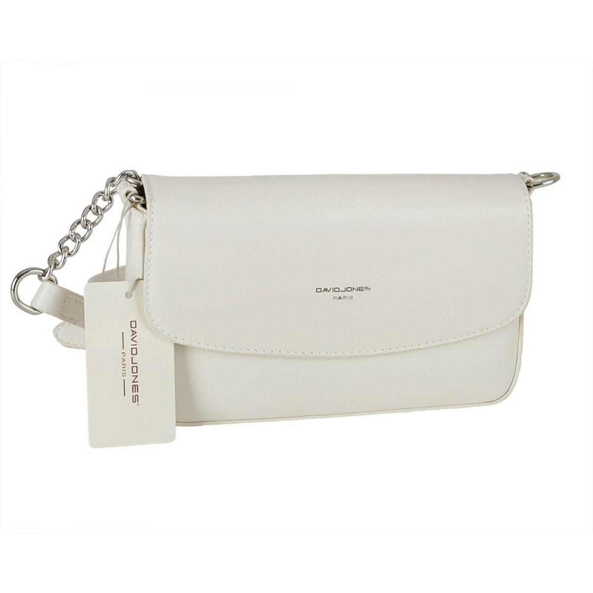 Жіноча сумка David Jones CM5635 CREAMY WHITE