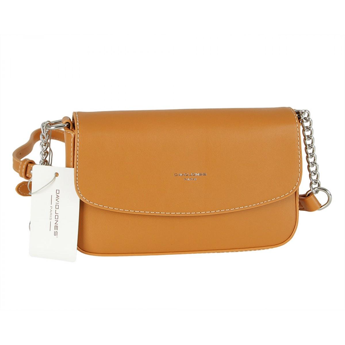 Жіноча сумка David Jones CM5635 COGNAC