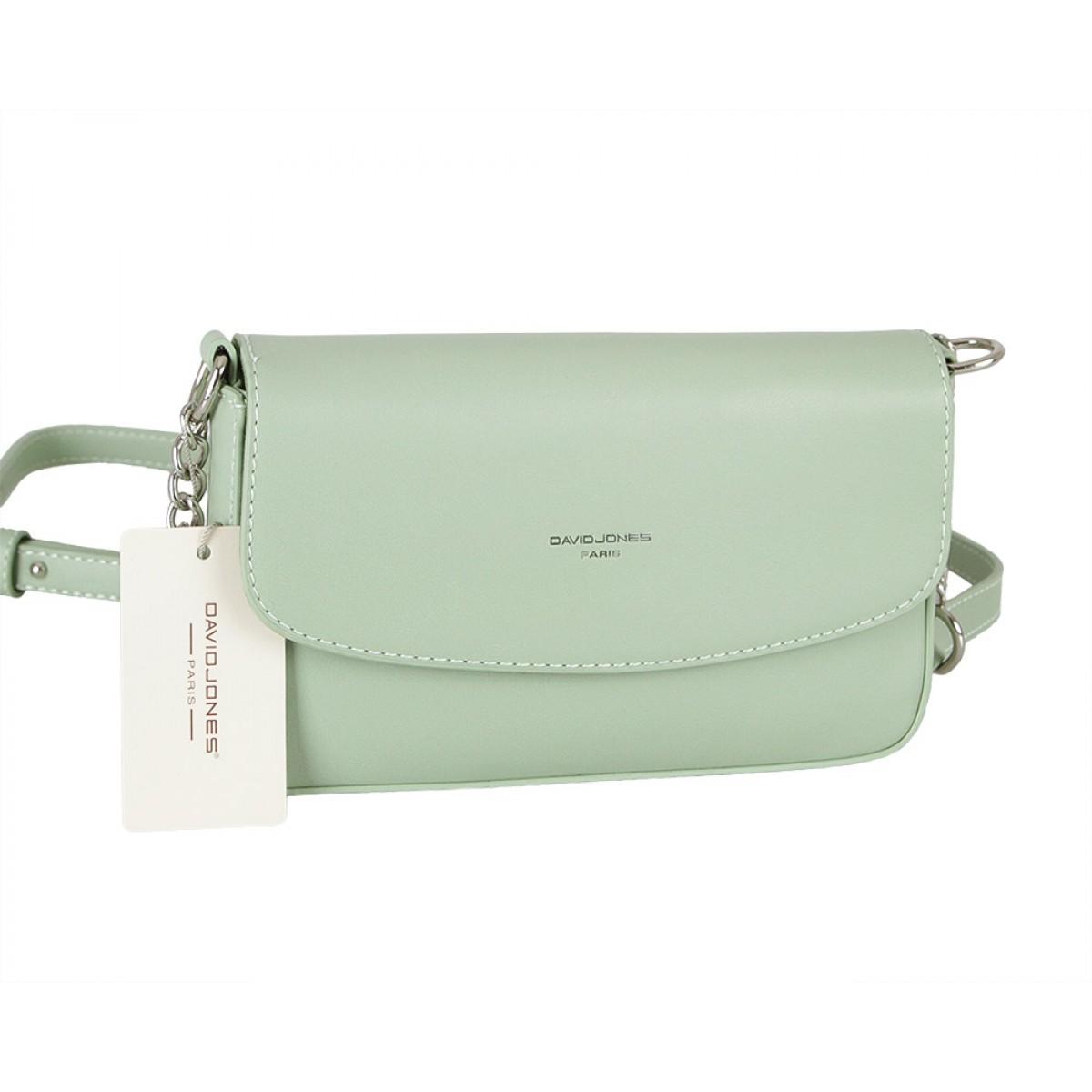 Жіноча сумка David Jones CM5635 GREEN