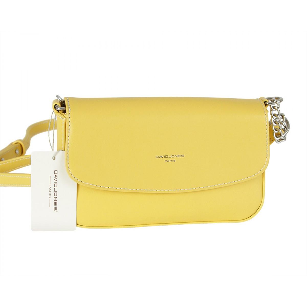 Жіноча сумка David Jones CM5635 YELLOW