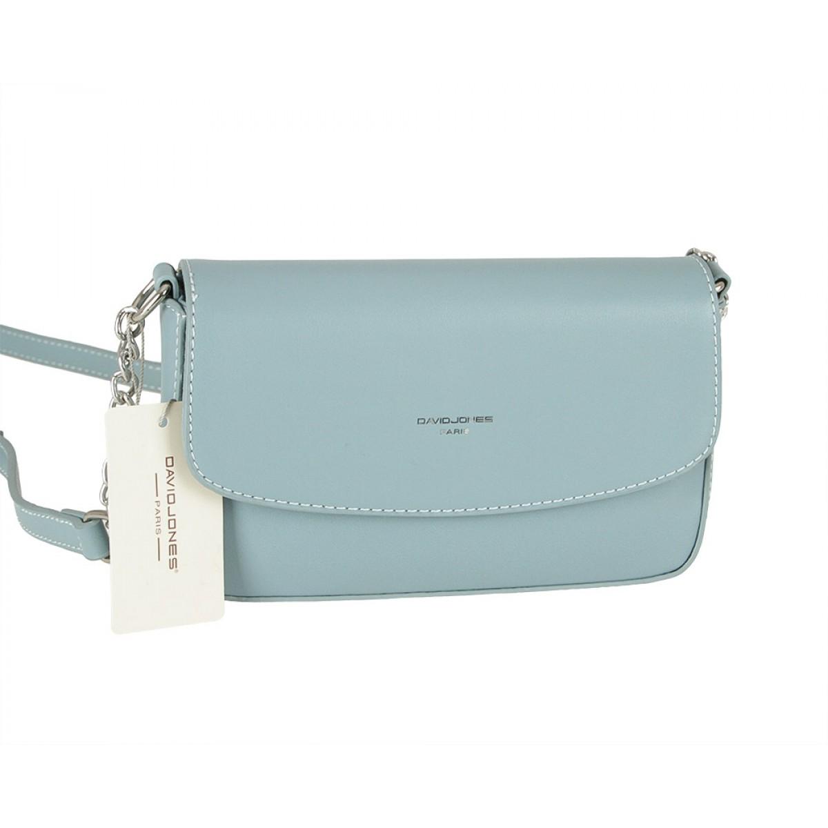 Жіноча сумка David Jones CM5635 L.BLUE