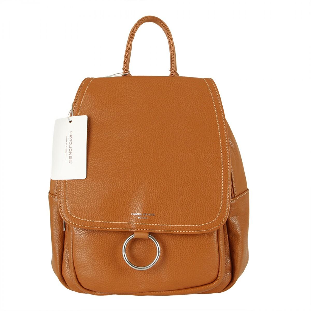 Жіночий рюкзак David Jones CM5636A COGNAC