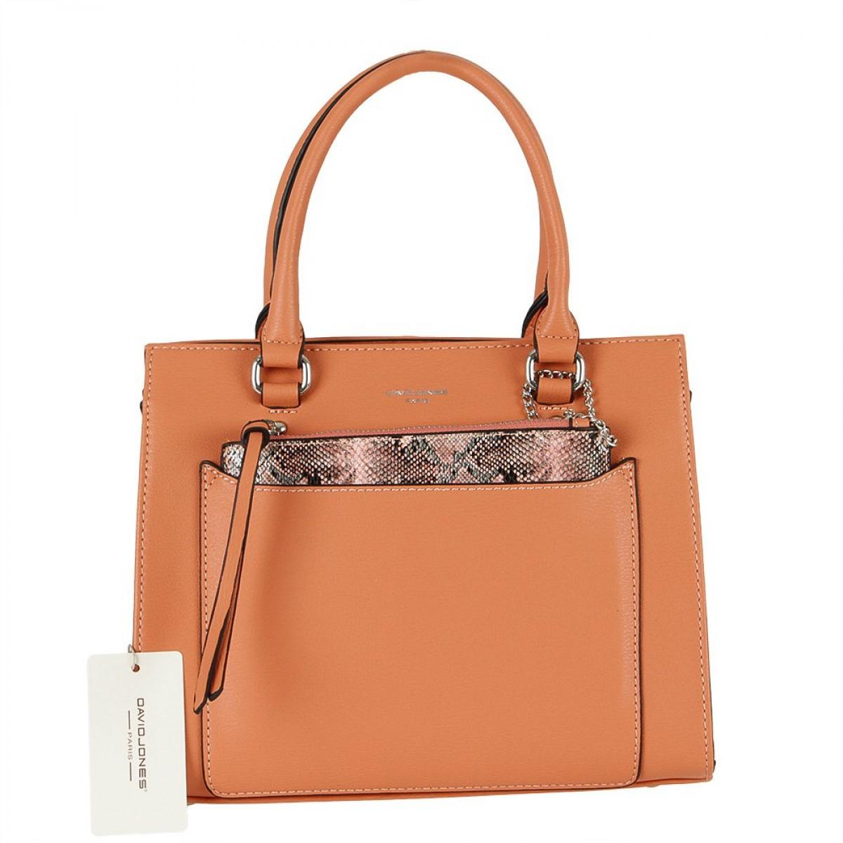 Жіноча сумка David Jones CM5638 CORAL