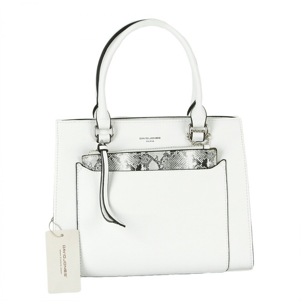 Жіноча сумка David Jones CM5638 WHITE