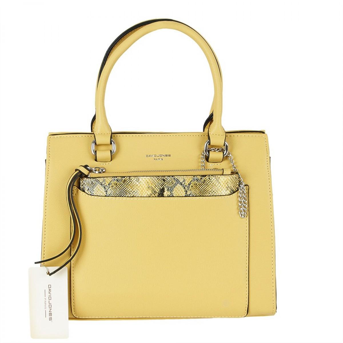 Жіноча сумка David Jones CM5638 YELLOW