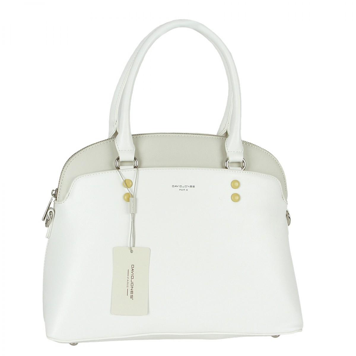 Жіноча сумка David Jones CM5640 WHITE