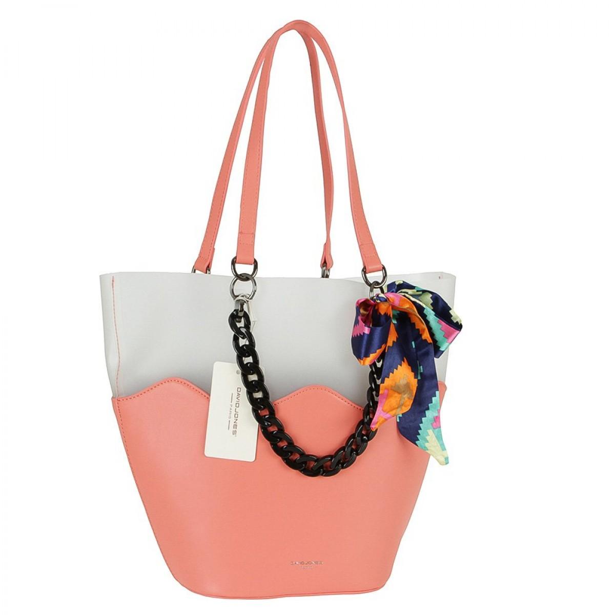 Жіноча сумка David Jones CM5645 CORAL