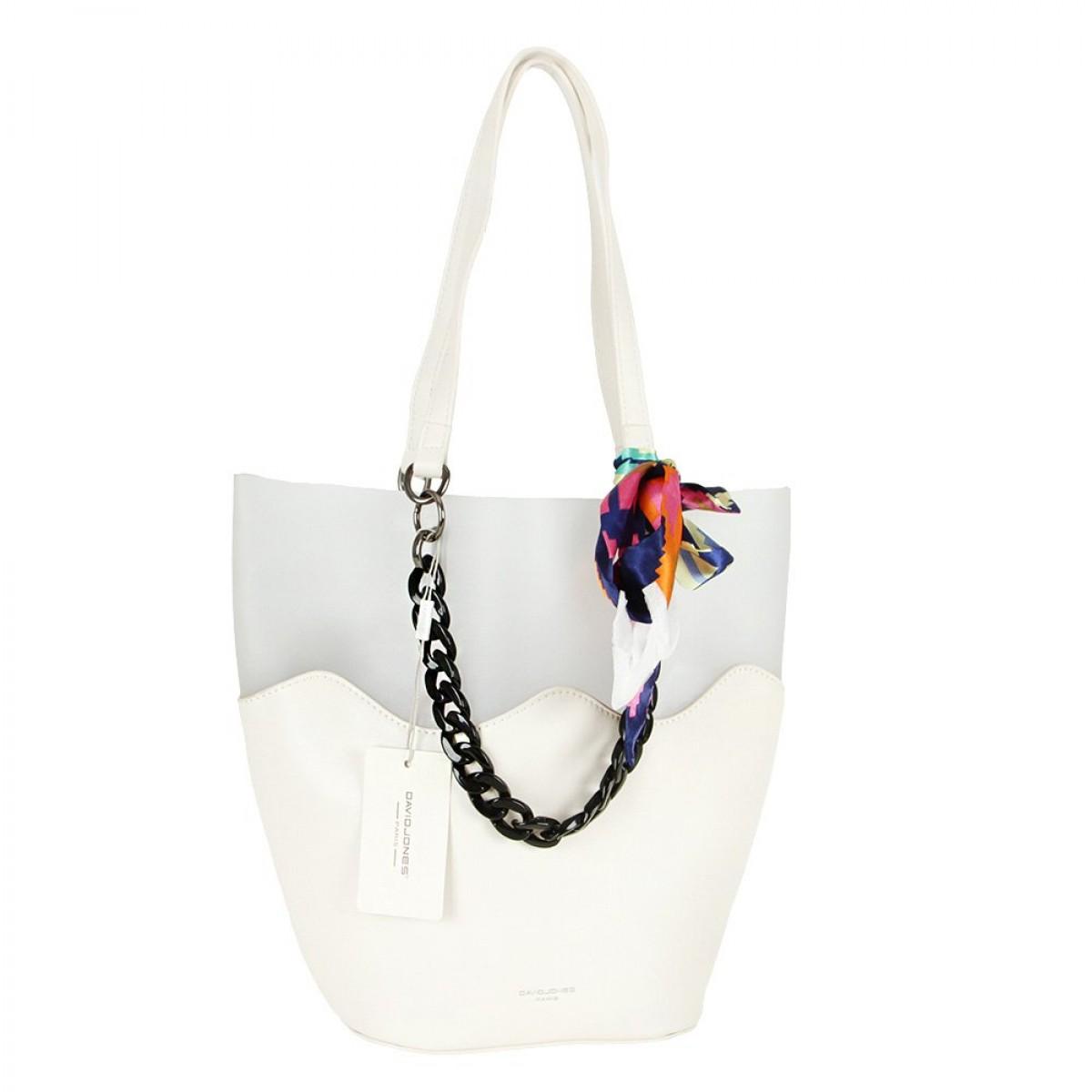 Жіноча сумка David Jones CM5645 CREAMY WHITE
