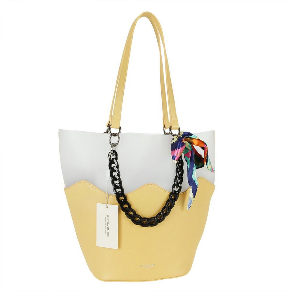 Жіноча сумка David Jones CM5645 YELLOW