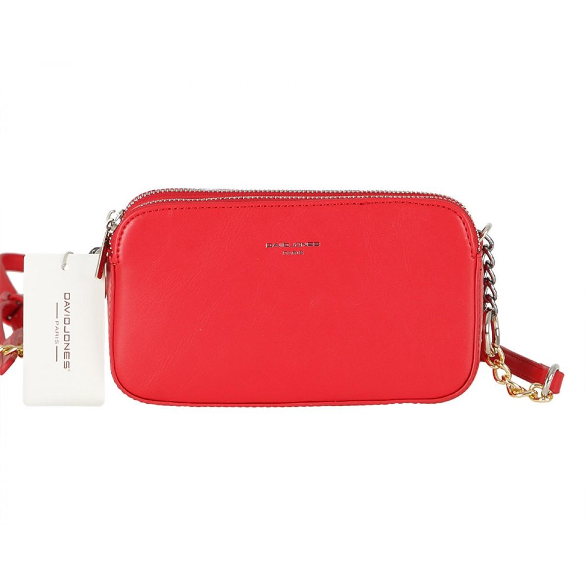 Жіноча сумка David Jones CM5657 RED