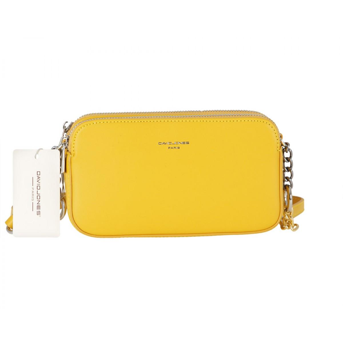 Жіноча сумка David Jones CM5657 YELLOW