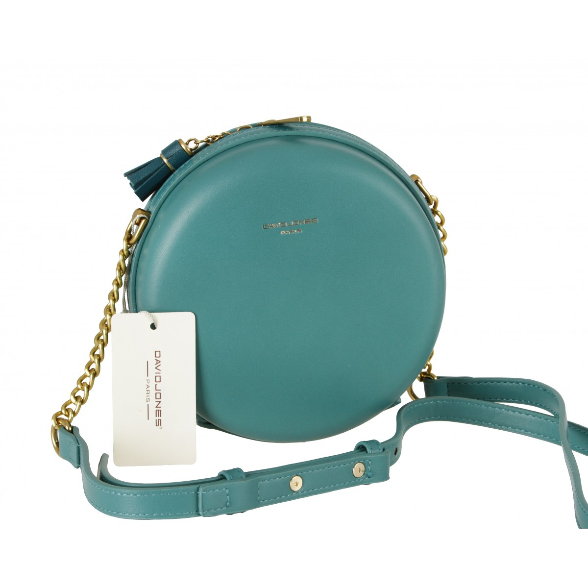 Жіноча сумка David Jones CM5658 BLUE GREEN