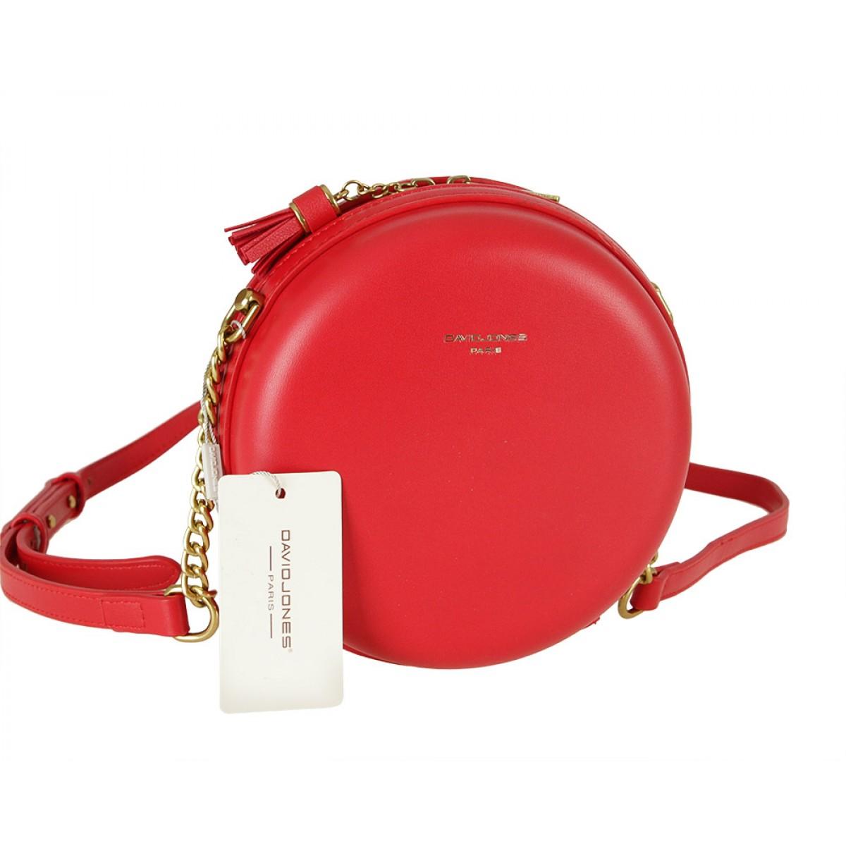Жіноча сумка David Jones CM5658 RED