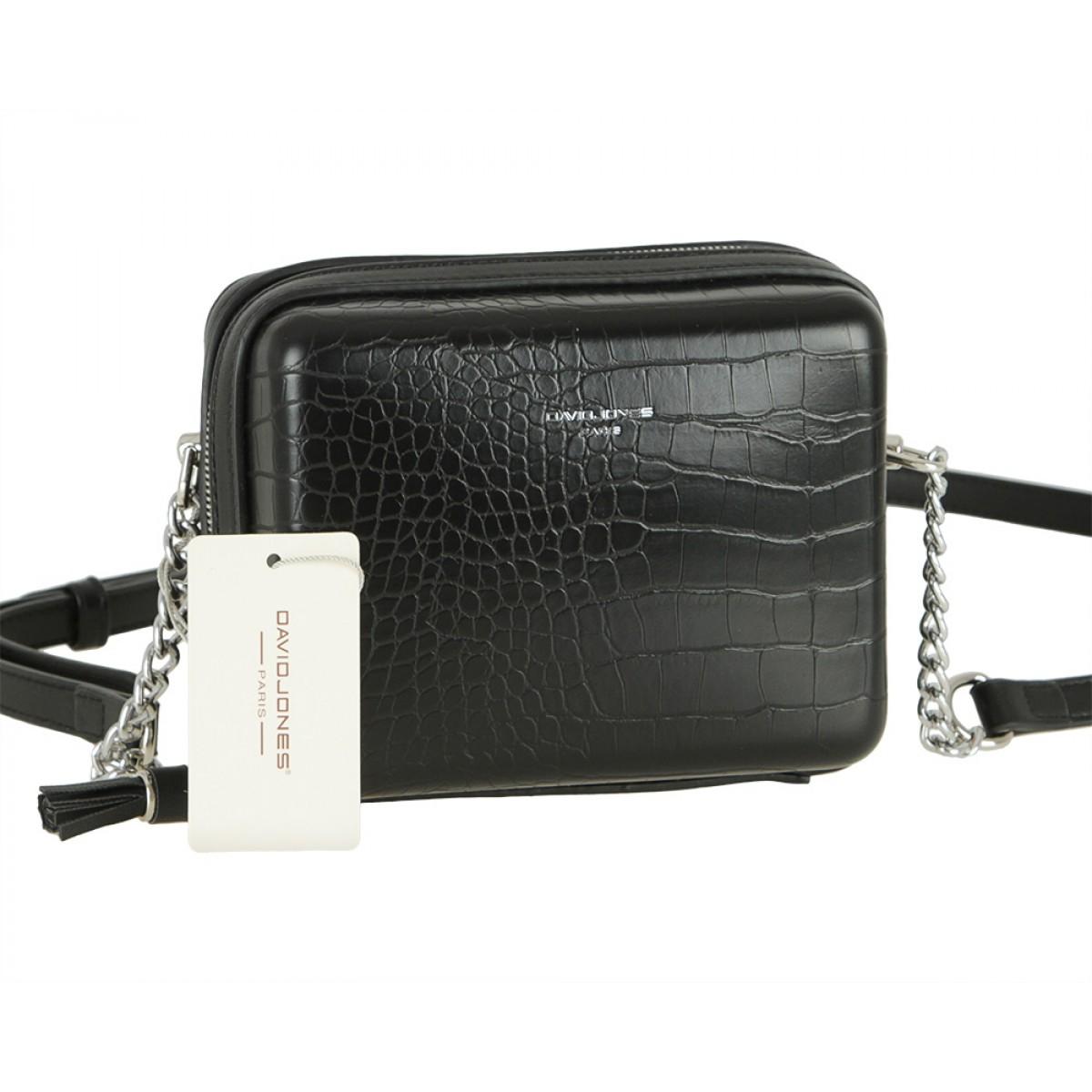Жіноча сумка David Jones CM5660 BLACK