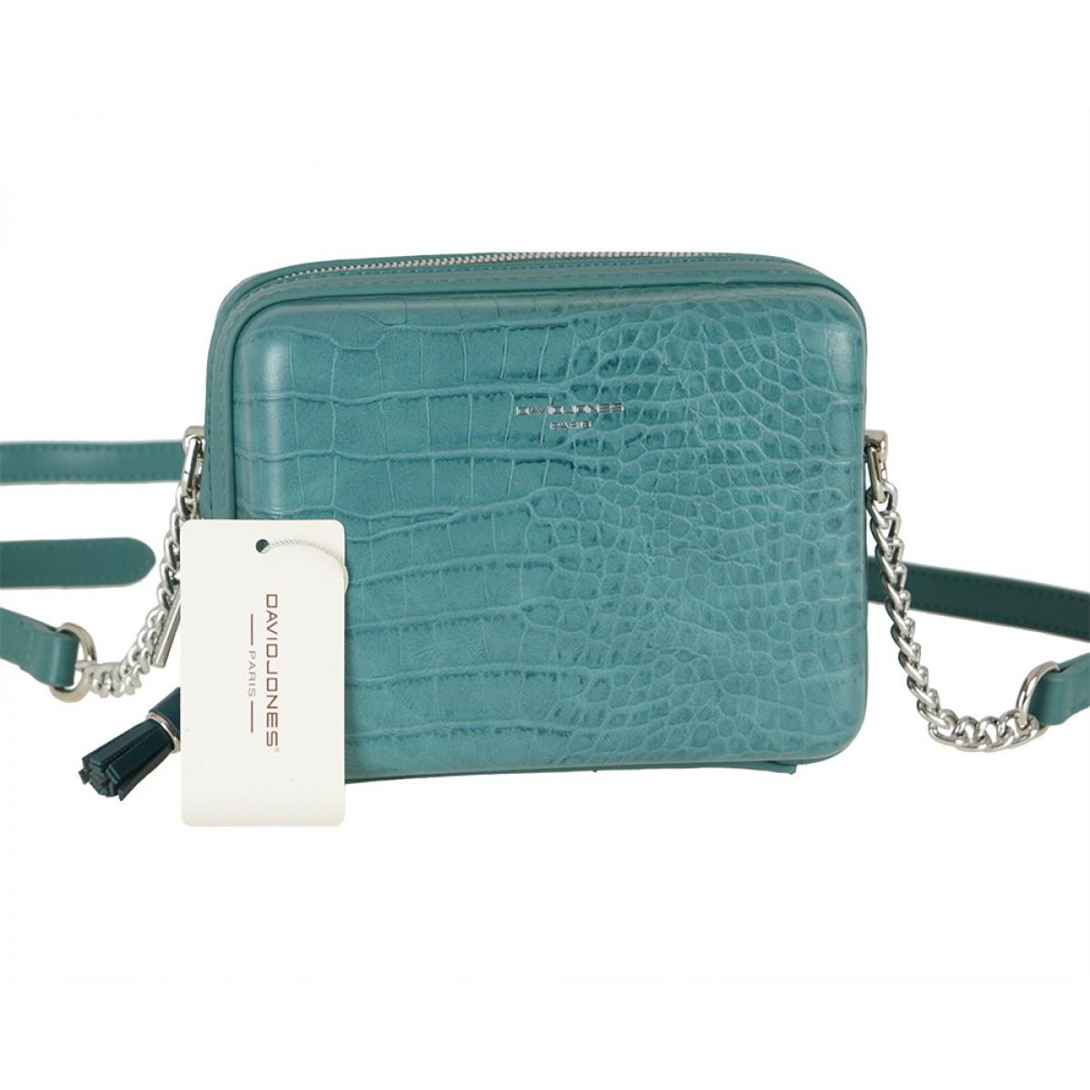 Жіноча сумка David Jones CM5660 BLUE GREEN