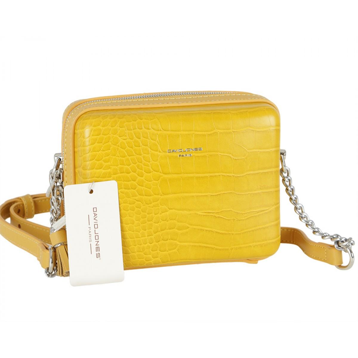 Жіноча сумка David Jones CM5660 YELLOW