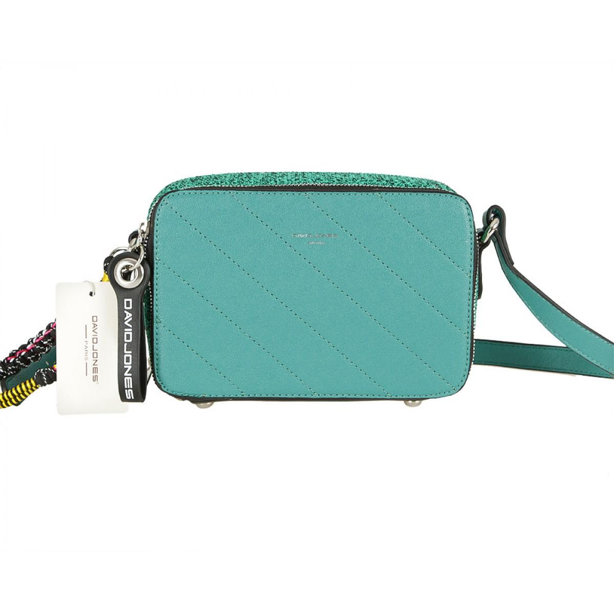 Жіноча сумка David Jones CM5664 GREEN