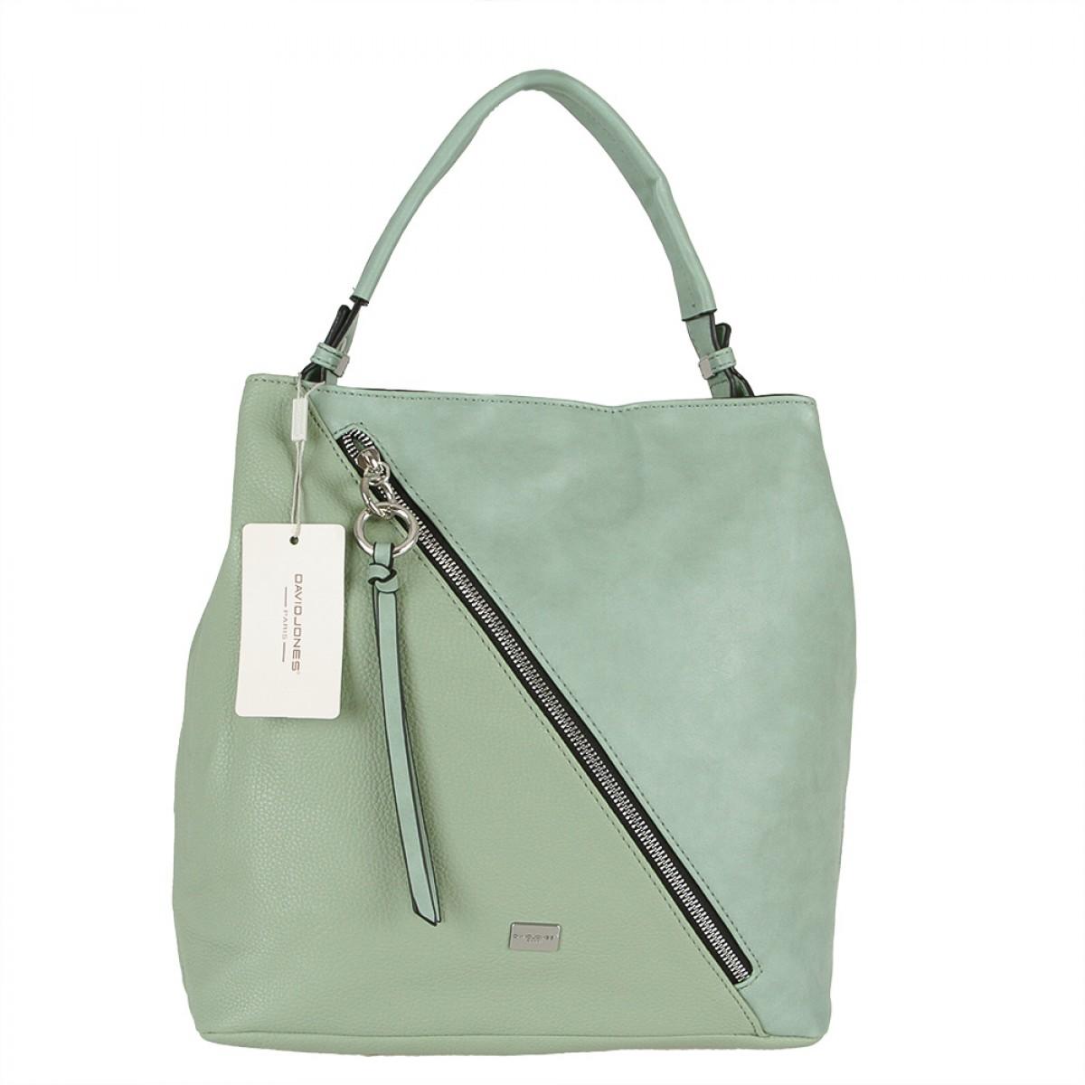 Жіноча сумка David Jones CM5673 LIGHT GREEN